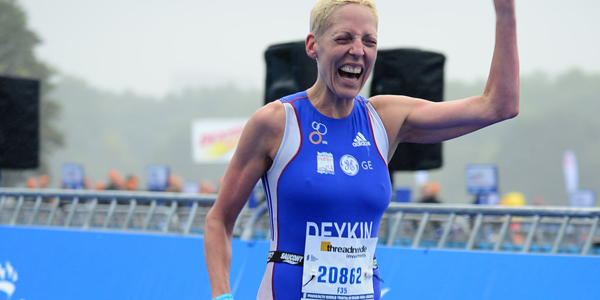 Trish Deykin Triathlete
